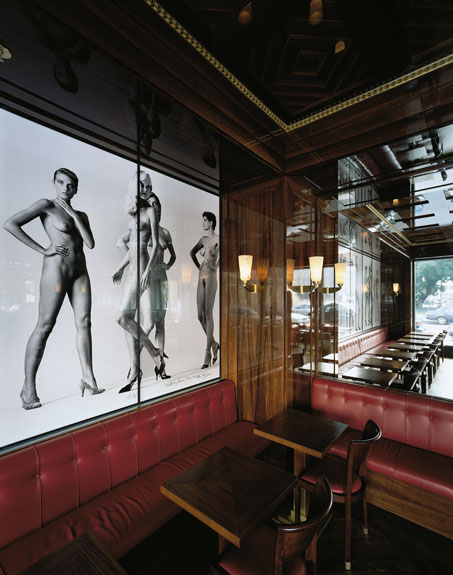 Interior Design of the Newton Bar